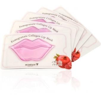 Гидрогелевая маска-патч для губ Skinfood Pomegranate Collagen Lip Mask